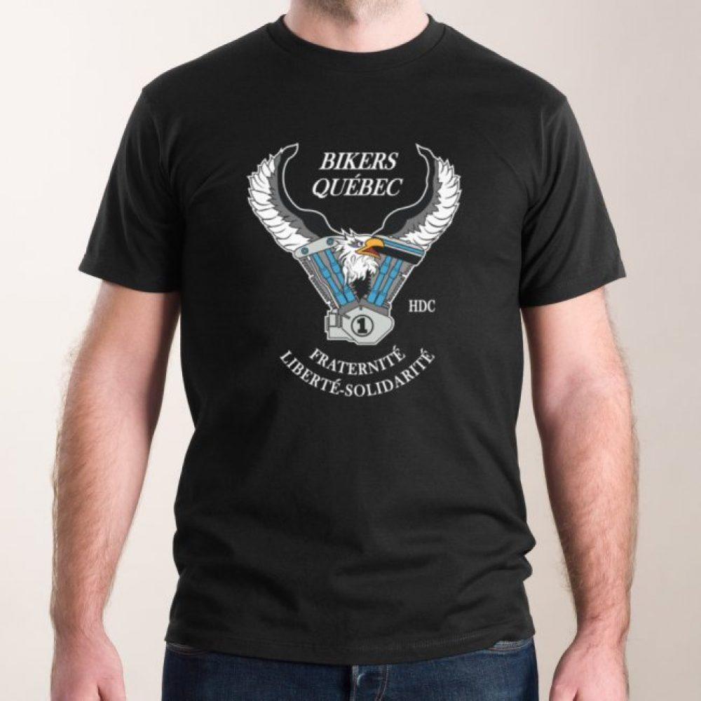 T-Shirt BQHDC avec Logo pour homme